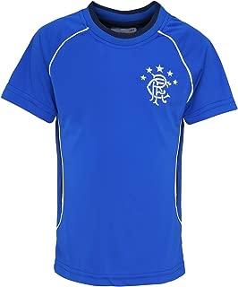 Official Football Merchandise Kids Rangers FC Short Sleeve T-Shirt