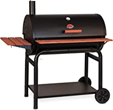Char-Griller 2137 Outlaw 1063 Square Inch Charcoal Grill / Smoker