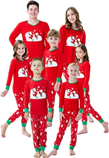 Matching Family Pajamas Christmas Boys and Girls Red Christmas Tree Baby Clothes Mum and Me Pjs Women Men