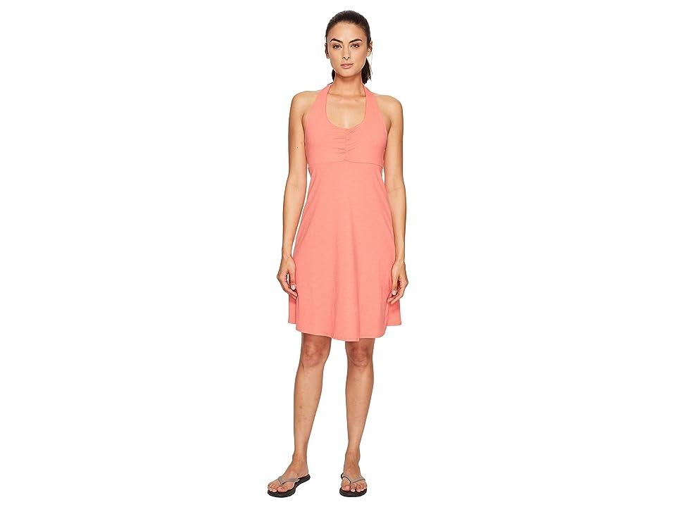 Prana Beachside Dress (Summer Peach) Women