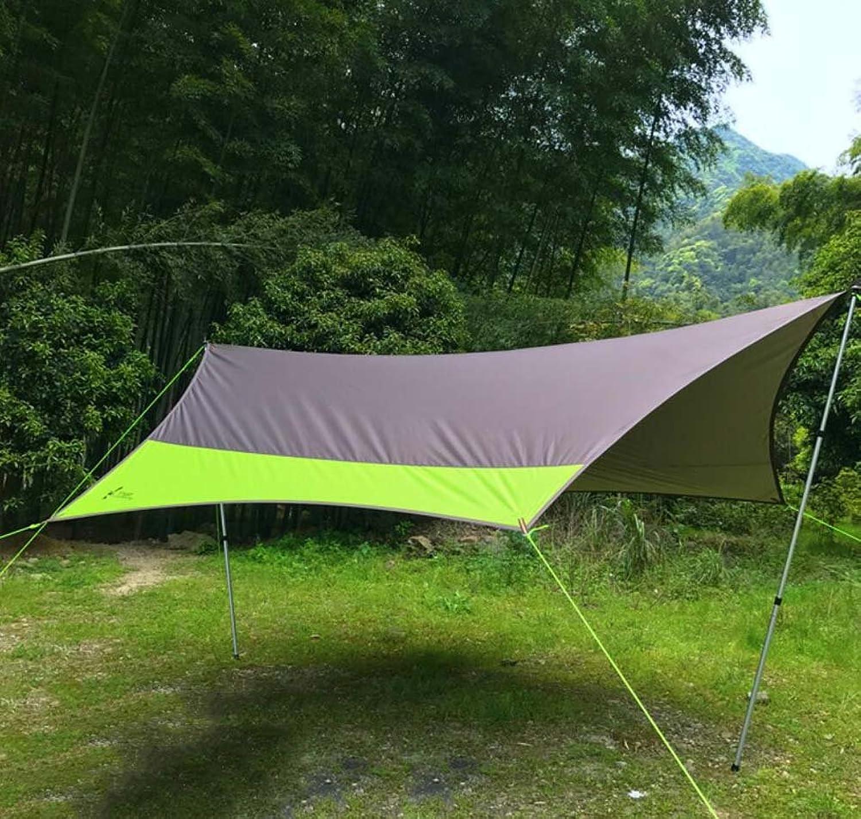 GJX New Canopy Zelt, Groe Oxford Tuch Outdoor Camping Zelt, Regen Sonnenschutz Schatten Aluminium Camp Column Groe Pergola (5-8 Personen)