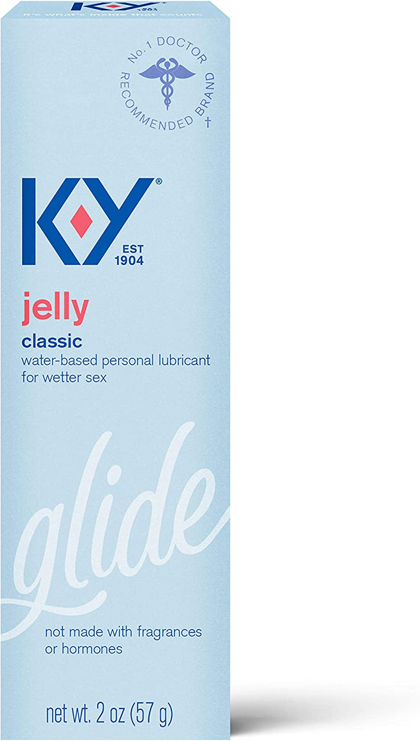 K-Y OFFicial Jelly Lube Personal Max 71% OFF Lubricant to Water-Based Formula Safe