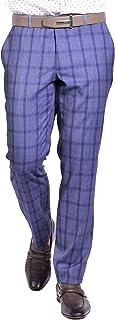 Craft & Soul Men's Slim Fit Stretch Fancy Pattern Dress Pant