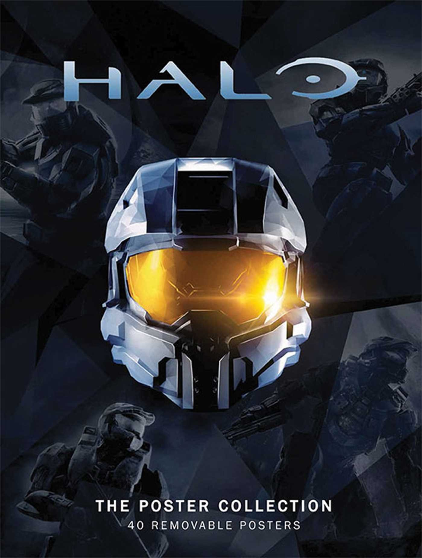Image OfHalo: The Poster Collection (Insights Poster Collections)