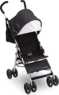 Jeep North Star Stroller – Lightweight Stroller Features Parent Organizer, Cup Holder and Cool-Climate Mesh Seat, Black with Royal Blue