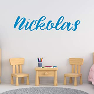 Boy's Custom Name Wall Decal, Choose Your Own Name And Letter Style, Multiple Sizes, Bedroom Decoration, Nursery Wall Decal, Boy's Nursery Room, Vinyl Decor, Wall Decal, Boy's Name, Wall Sticker