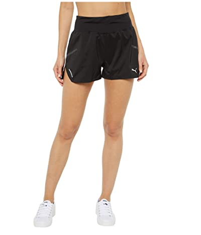 PUMA Runner ID 3 Shorts (PUMA Black) Women