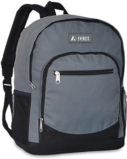 حقيبة ظهر ايفرست كاجوال مع جيب شبكي جانبي