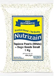 Nutrizain Tapioca Pearl Sago, Small, 1 kg