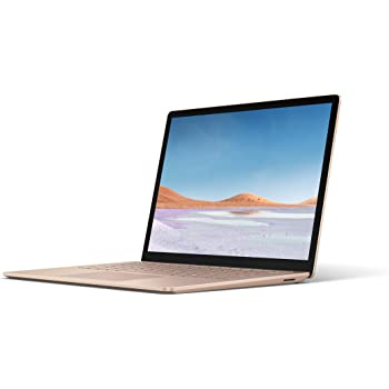 """Microsoft Surface Laptop 3 – 13.5"""" Touch-Screen – Intel Core i5 - 8GB Memory - 256GB Solid State Drive (Latest Model) – Sandstone (Renewed)"""