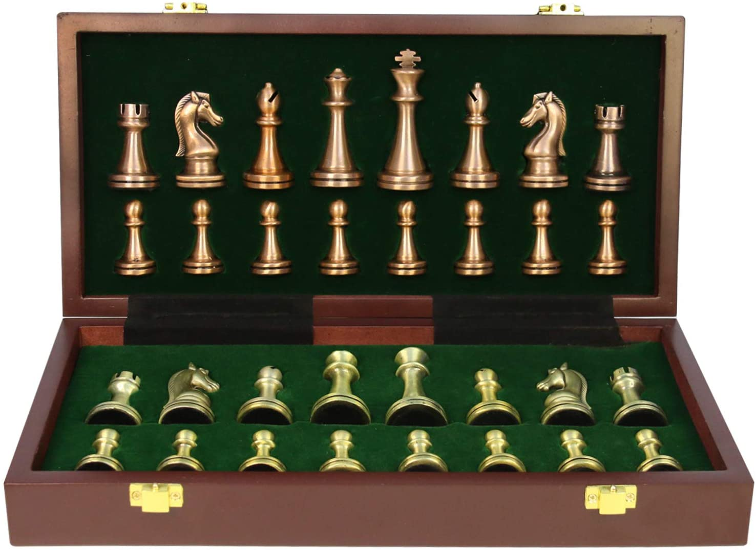 Chess Set Large Metal Deluxe Adults Manufacturer direct delivery F Surprise price Unique for