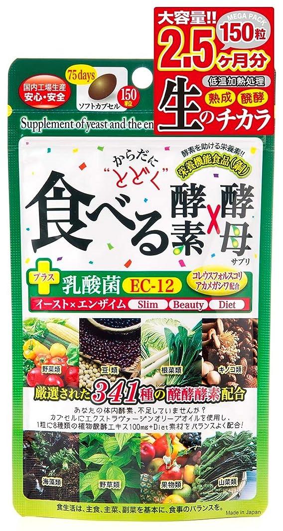 パシフィックインク市町村ジャパンギャルズ からだにとどく 食べる生酵素×生酵母 460mg×150粒