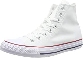 Converse Mens C Taylor A/S HI Sneakers (10 D(M) US, Optical White)