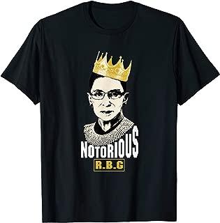 Notorious RBG Ruth Bader Ginsburg Political T shirt Gift T-Shirt