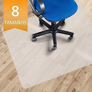 comprar comparacion OfficeMarshal Alfombrilla Protectora - Estera para Silla de Oficina | Protector Suelo Semi-Transparente | Polipropileno | ...
