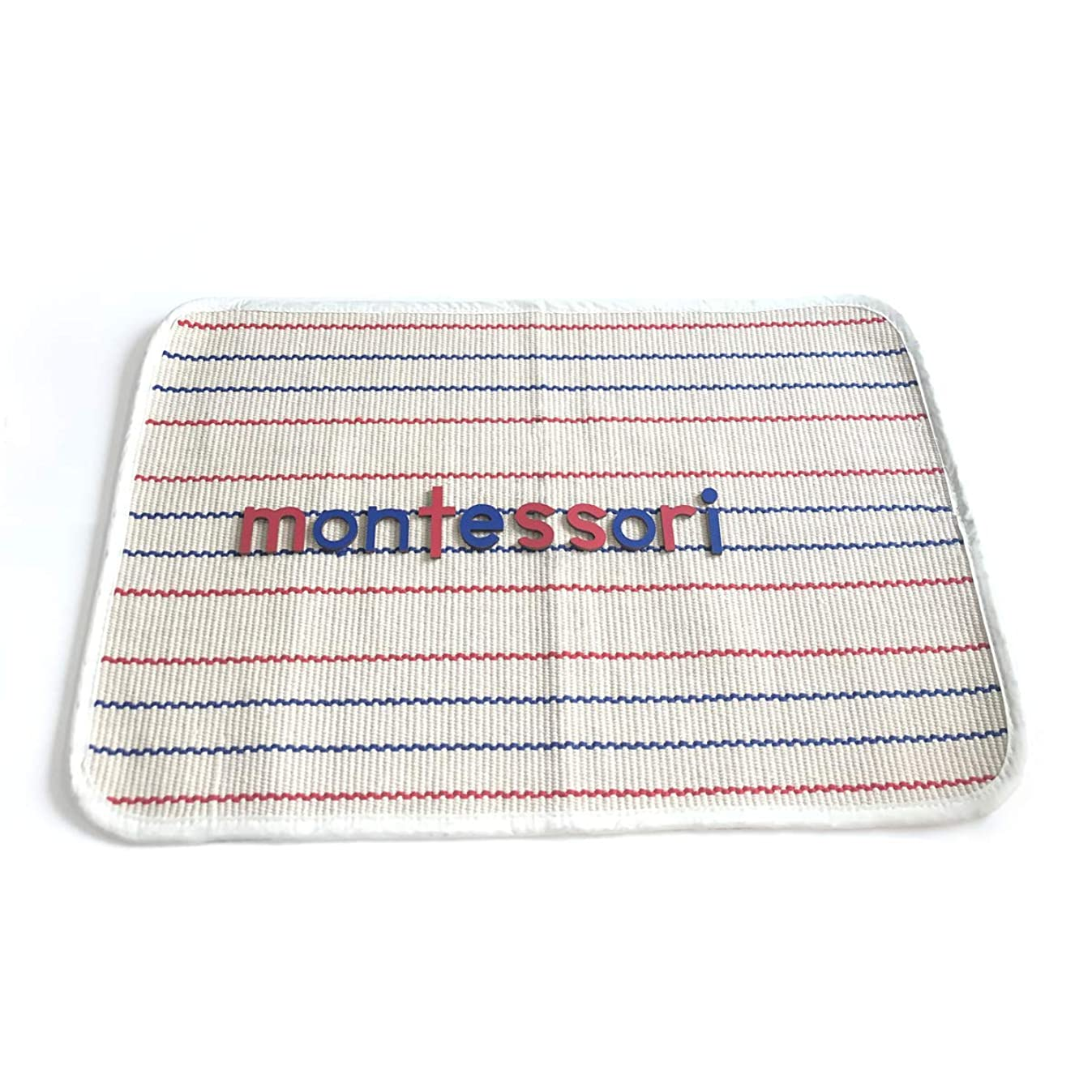 EOFEEL Montessori Materials Accessories Children Playing Mat Working Rug for moveable Alphabet Letters (23.6×16.5 inches)