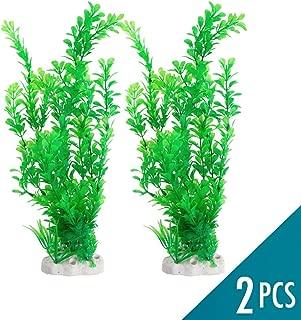 Artificial Plants for Aquarium and Fish Tank Decorations - 2 pcs 4.7 x 13