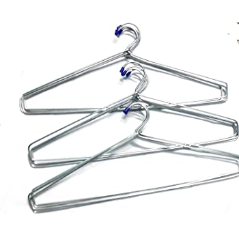 Blumfye™ Steel Cloth Hanger (Heavy) - Pack of 24