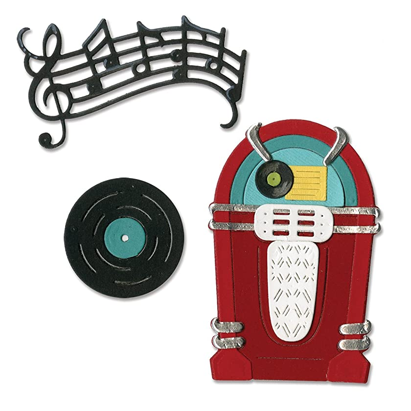Sizzix 659502 Juke Box/Music Thinlits Die