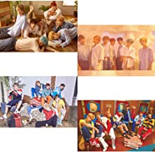 BigHit BTS Love Yourself Her (L+O+V+E Version) 4 Unfolded Official Posters in Tube (23.4 X 16.5 inch)