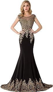 e92093cef2f Babyonlinedress Sexy Elegant Robe de Soirée Bal Cérémonie Forme Fourreau  Sirène Trompette Longue