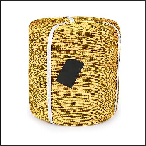 LLXYM en Plein Air Corde Cordée Camping Bundle Corde Cordage Corde Auxiliaire Parapluie 4Mm,3,4Mm50m