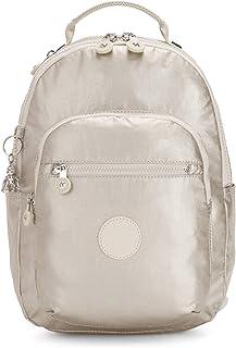 "Kipling Women's Seoul Backpack, Cloud Metal, 10""L x 13.75""H 4.5""D"
