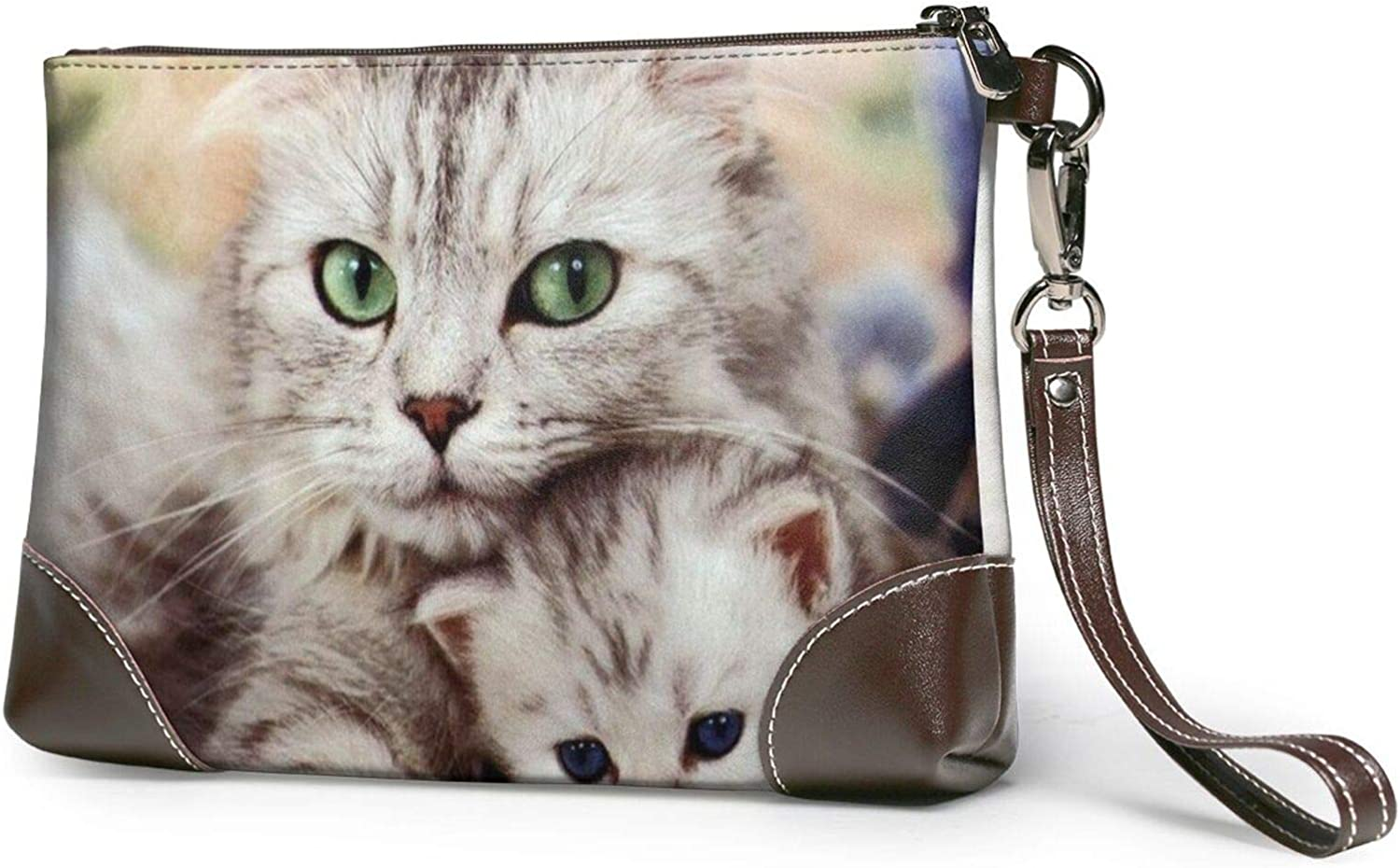 Cats Mom And Baby Department Dedication store Clutch P Purses Wallet Wristlet Leather