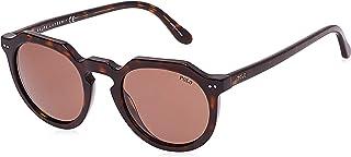 نظارة شمسية بولو للجنسين، بني مقاس 49 49 ملم رقم PH4138 500373