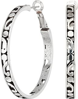 Brighton - Contempo Large Hoop Earrings