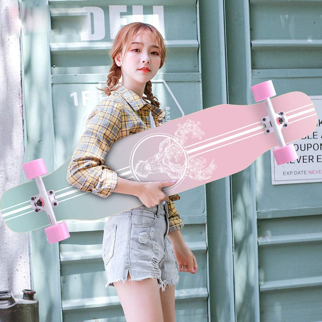 Jyfsa Complete Freestyle Max 42% OFF Longboard Skateboard X Mail order 9.2 Inches 43.3