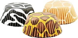 Fox Run 6893 Animal Prints I Bake Cup Set, 3 x 3 x 1.25 inches, Mixed