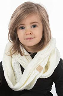 Funky Junque Exclusives Infinity Scarf Girls Knit Winter Kids Circle Neck Warmer