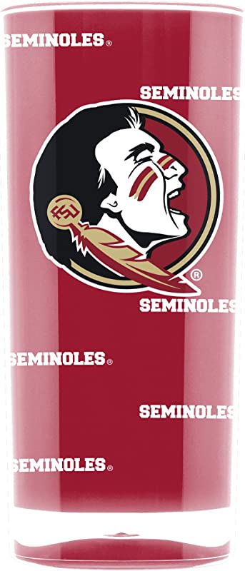 NCAA Florida State Seminoles 16oz Insulated Acrylic Square Tumbler