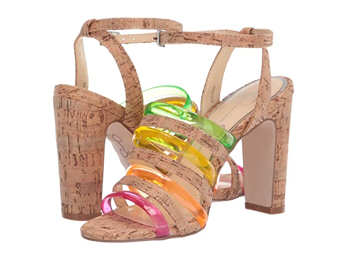 Jessica Simpson  Aveesha (Natural Combo) Womens Shoes