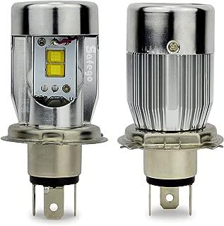 Safego H4 LED Headlight Bulb Hi/Lo 50W 5600Lm High Low Dual Beam Headlight Kit Motor LED Lights,2Pcs-1 Year Warranty