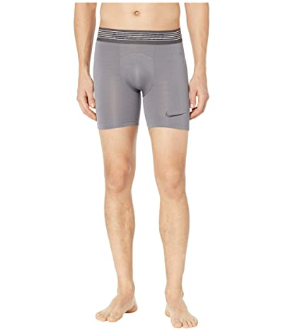 Nike Pro Breath Shorts (Gunsmoke/Gunsmoke/Black) Men