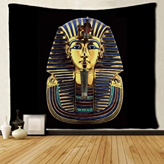 SARA NELL Tapestry King Pharaoh Tutankhamun Egypt TUT Egyptian Tapestries Wall Hanging Hippie Art Home Decoration College ...