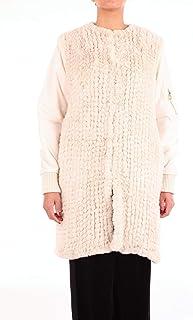 PINKO Women's 1G12P5Y3N8WHT White Polyester Coat