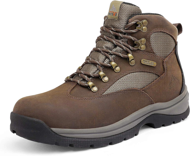 NORTIV 8 Men's Safety Steel Arlington Mall Work Constructi 5% OFF Boots Waterproof Toe