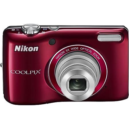 Nikon デジタルカメラ COOLPIX (クールピクス) L26 レッド L26RD