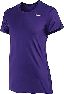 Women's DriFit Legend Short Sleeve TShirt, (X-Large, Purple)