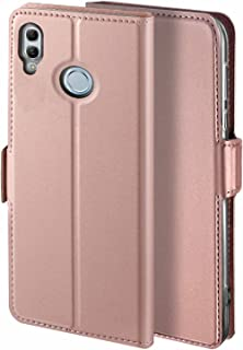 Libra_J Case for Huawei P Smart 2019 Mobile Phone case, [Stand Function] [Card Slot] [Magnet] [Anti-Slip] Premium Leather Flip Case Cover for Huawei P Smart 2019 Mobile Phone case (Rose Gold)