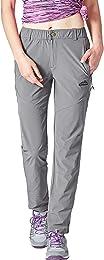 YSENTO Pantalon de randonnée léger résistant à l'e