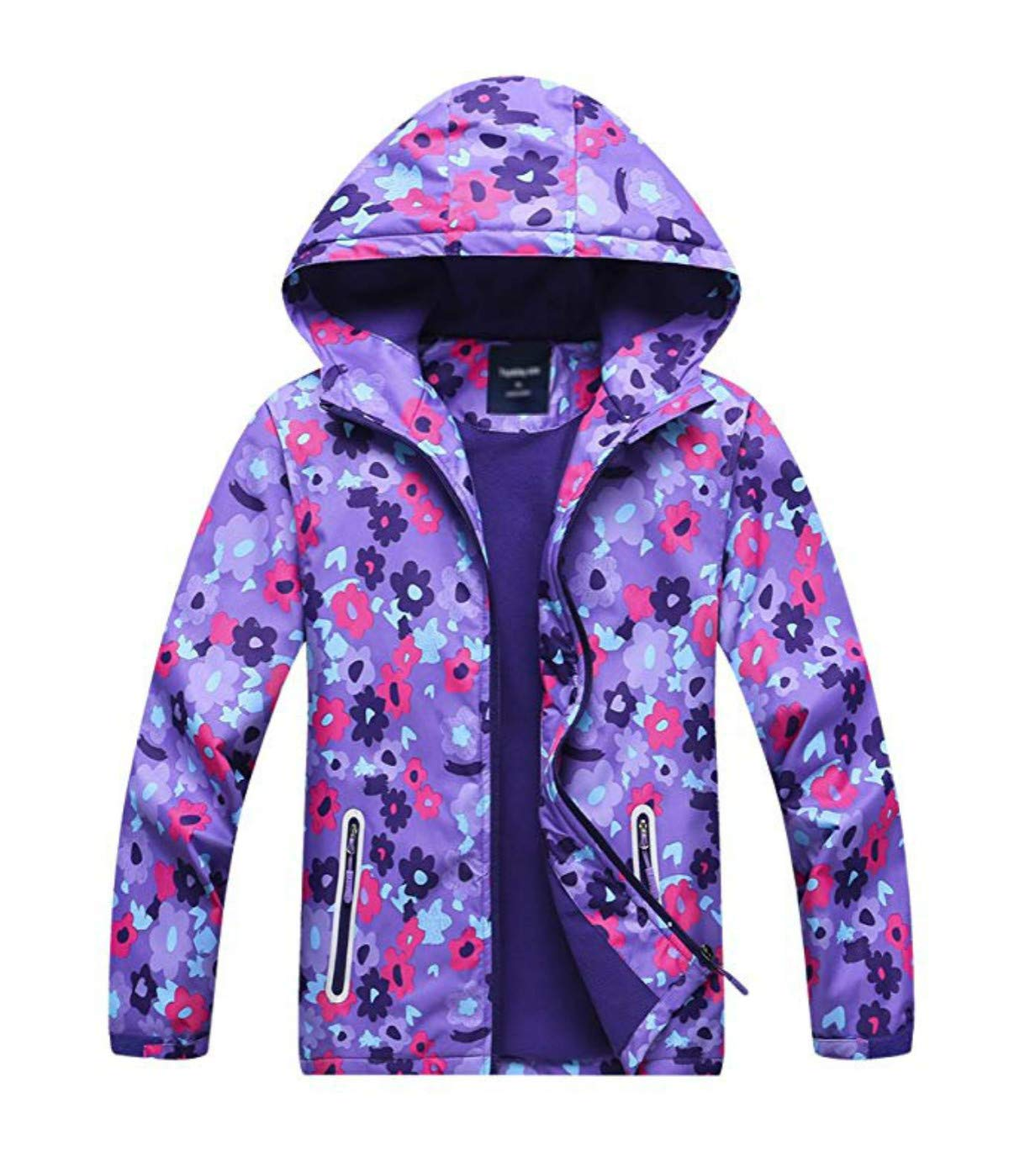 Jackets Lightweight Waterproof Hooded Windbreakers