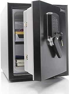 Honeywell Safes & Door Locks - 2607 Steel Submersible Waterproof 2 Hour Fire Safe; Digital Lock; Motion Alarm; 1.74 Cubic ...