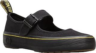 Dr.Martens Womens Florentia Black Canvas Shoes 40 EU