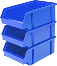 Lantelme Cajas Visión Almacenamiento (Selección, plástico, Azul, 25er Pack