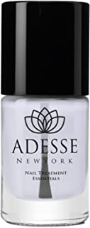 ADESSE NEW YORK Organic Infused Brightening Base Coat Nail Polish, Protect & Restore, Brighten Discolored Nails