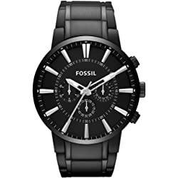 Fossil Reloj Cronógrafo para Hombre Acero Inoxidable